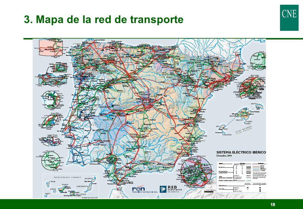 18 3. Mapa de la red de transporte