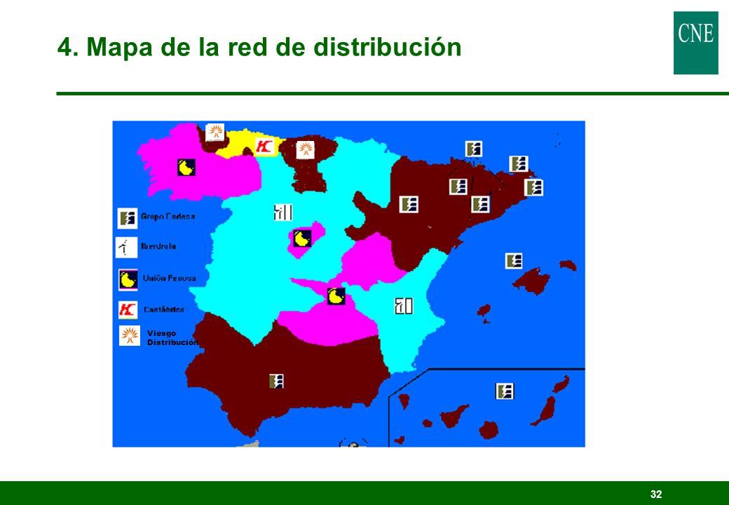 32 Viesgo Distribución 4. Mapa de la red de distribución
