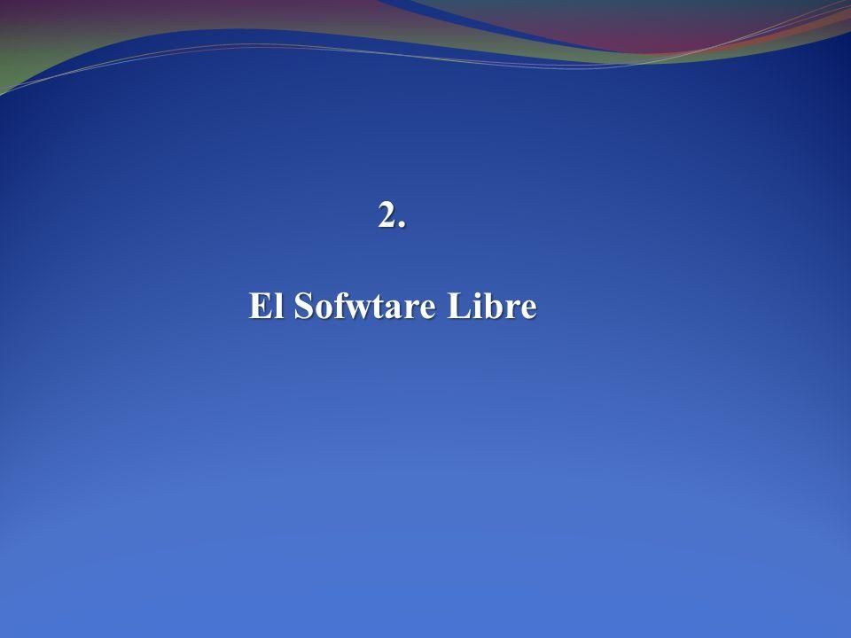 2. El Sofwtare Libre