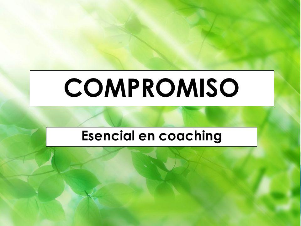 Godella (Valencia) 1-4 septiembre 2010 Iñaki Lascaray ilascaray@isie.es www.isie.es COMPROMISO Esencial en coaching