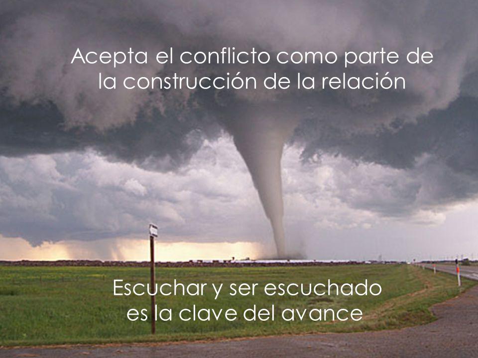 Iñaki Lascaray ilascaray@isie.es www.isie.es Acepta el conflicto como parte de la construcción de la relación Escuchar y ser escuchado es la clave del