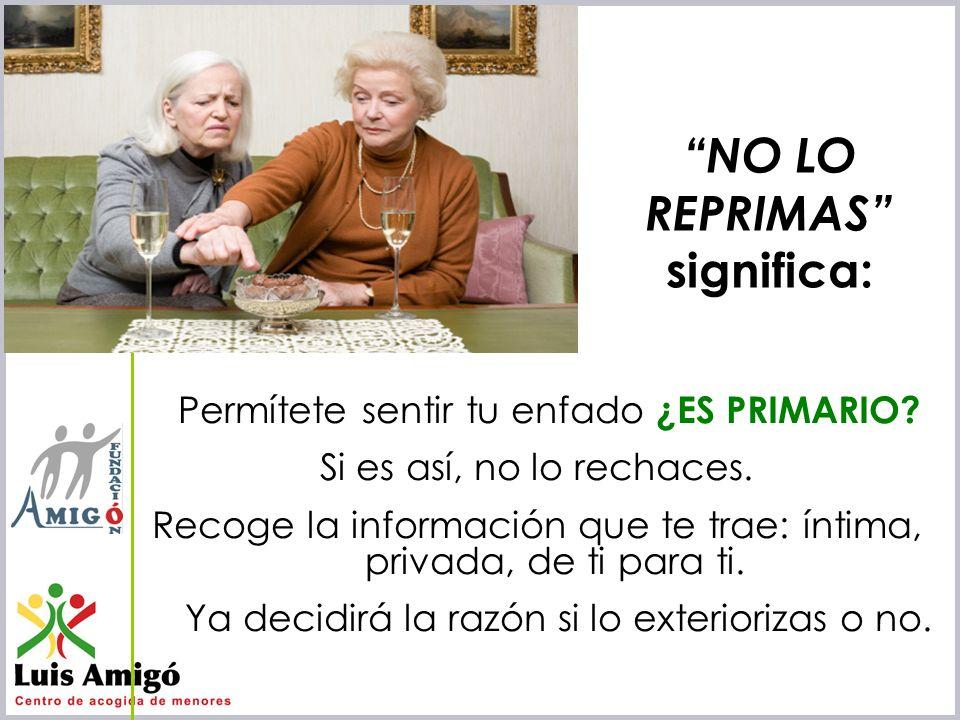 Iñaki Lascaray ilascaray@isie.es www.isie.es Permítete sentir tu enfado ¿ES PRIMARIO? Si es así, no lo rechaces. Recoge la información que te trae: ín