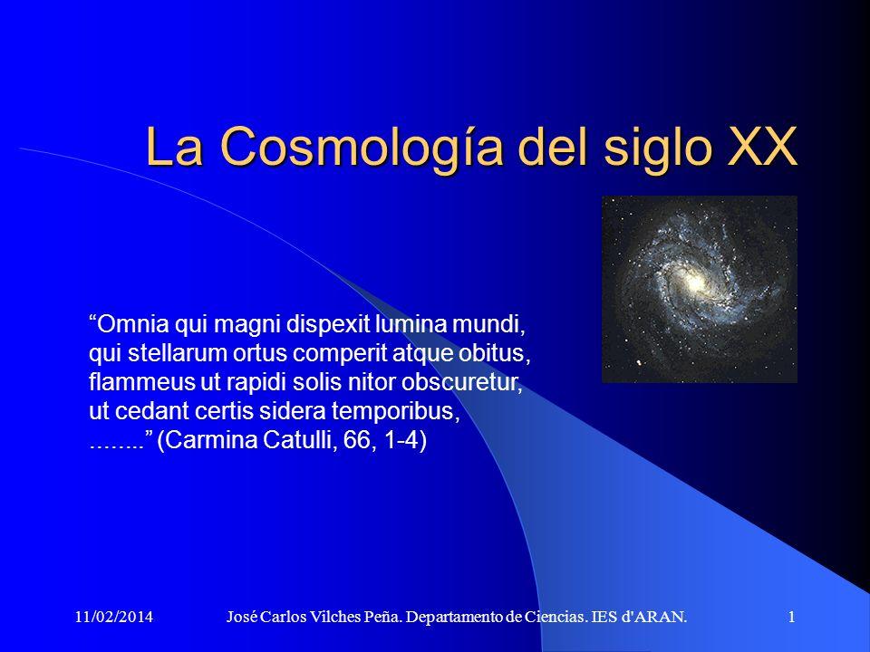 11/02/2014José Carlos Vilches Peña.Departamento de Ciencias.
