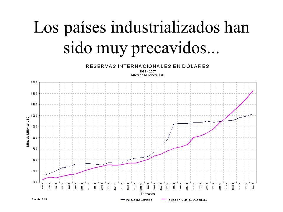Los países industrializados han sido muy precavidos...