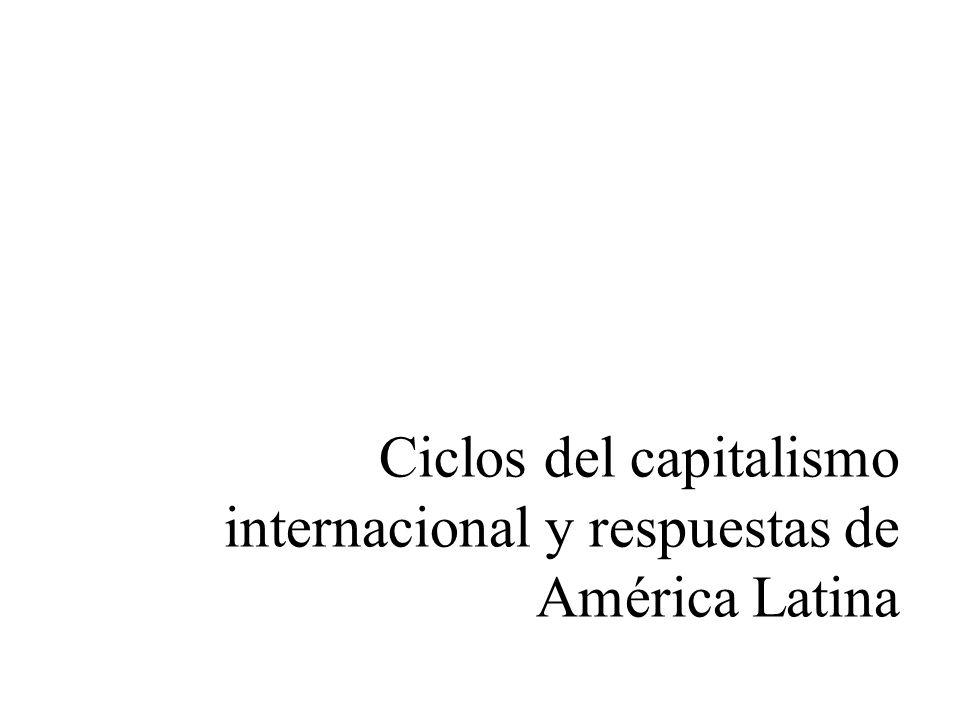 Ciclos del capitalismo internacional y respuestas de América Latina