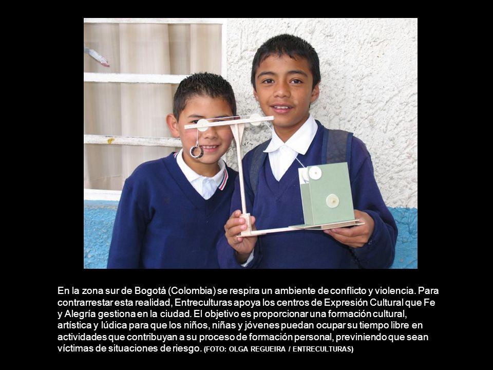 En la zona sur de Bogotá (Colombia) se respira un ambiente de conflicto y violencia.