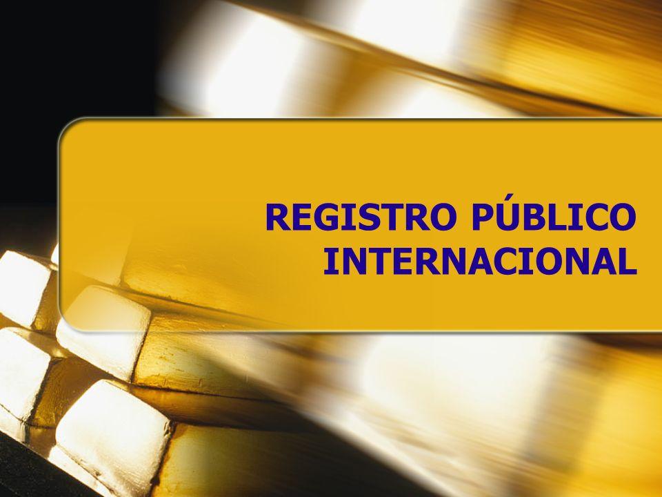 REGISTRO PÚBLICO INTERNACIONAL