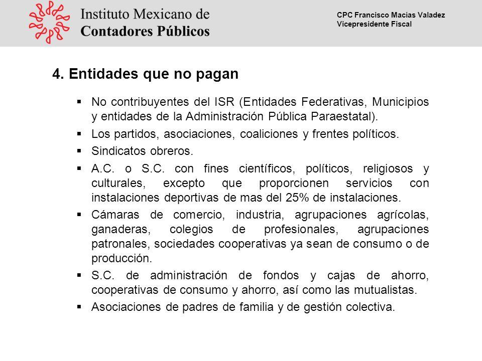 CPC Francisco Macías Valadez Vicepresidente Fiscal 4.
