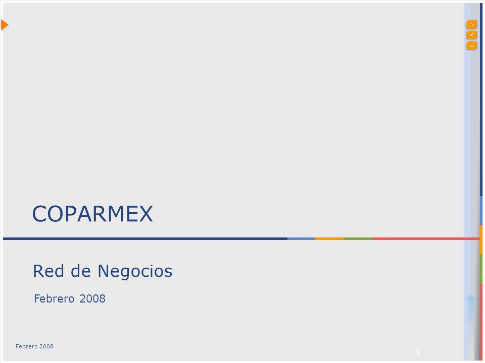 1 Red de Negocios COPARMEX Febrero 2008