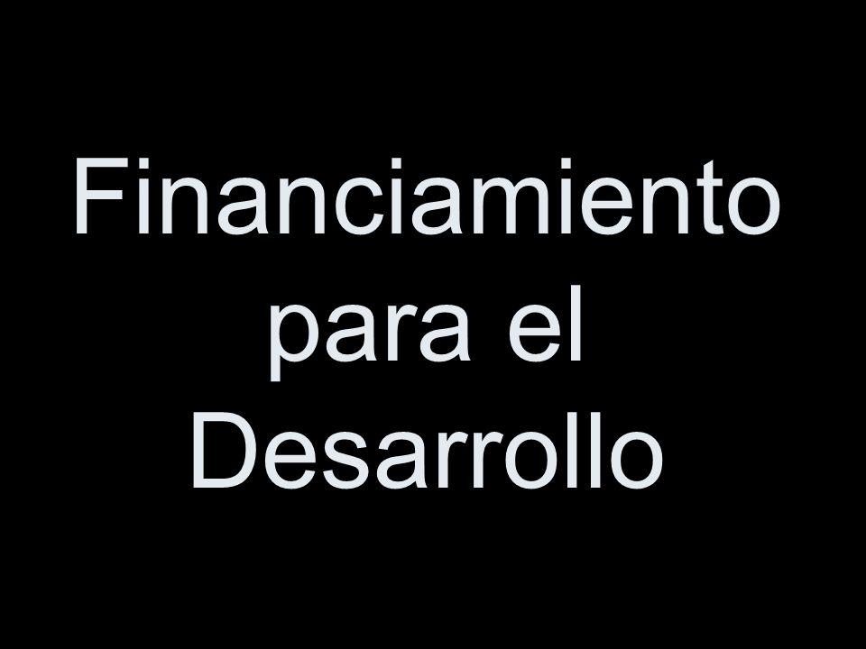 Financiamiento para el Desarrollo