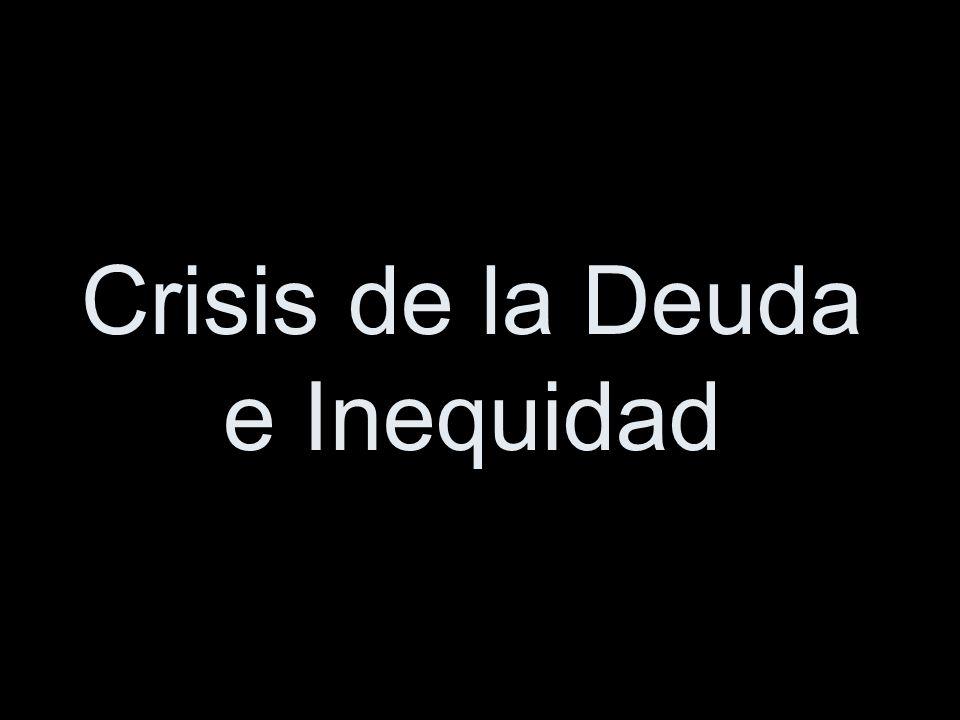 Crisis de la Deuda e Inequidad