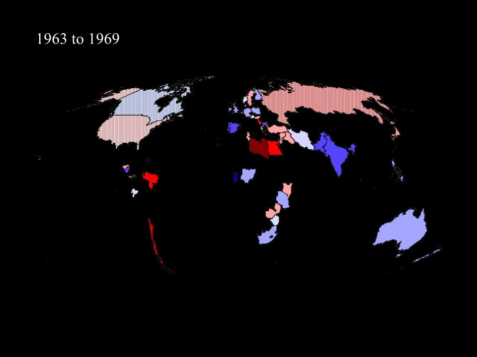 1963 to 1969
