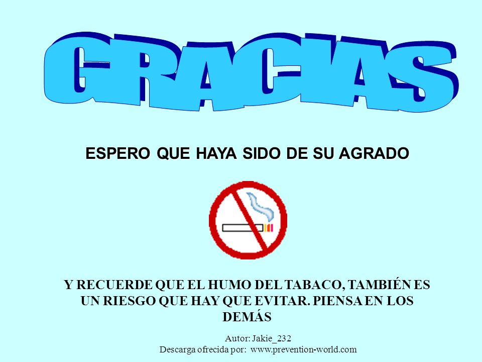 Autor: Jakie_232 Descarga ofrecida por: www.prevention-world.com TRABAJO SEGURO, EXIGELO!