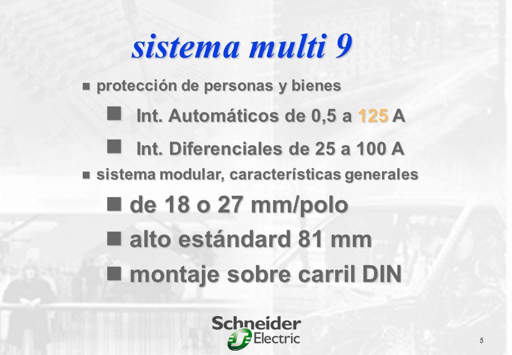 K60N 6 a 40A PIA doméstico 6000 C C60 N 6000 H 10000 L 25 kA 0,5 a 63 A 18mm/polo NG125 N 25 kA H 36 kA L 50 kA 10 a 125 A 27 mm/polo C120 N 10kA 10000 H 15kA 15000 10 a 125 A 27 mm/polo oferta actual interruptoresautomáticos multi 9 DPN DPN 4500 DPN N 6000 1 a 40 A 1P+N 9 mm/polo sistema multi 9 6