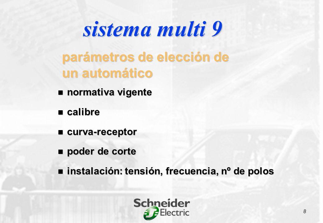 interruptores automáticos magnetotérmicos según nuevas normas: interruptores automáticos magnetotérmicos según nuevas normas: doméstica UNE-EN 60898 doméstica UNE-EN 60898 industrial UNE-EN 60947 industrial UNE-EN 60947 normativa
