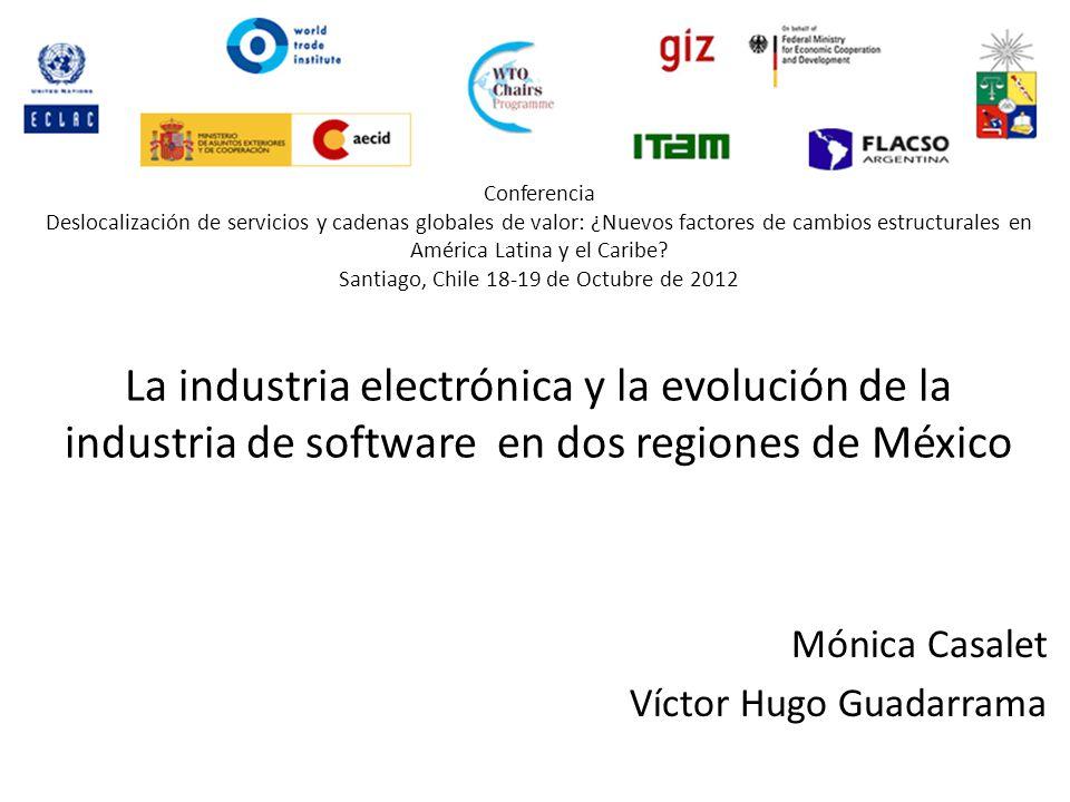 Conferencia Deslocalización de servicios y cadenas globales de valor: ¿Nuevos factores de cambios estructurales en América Latina y el Caribe.