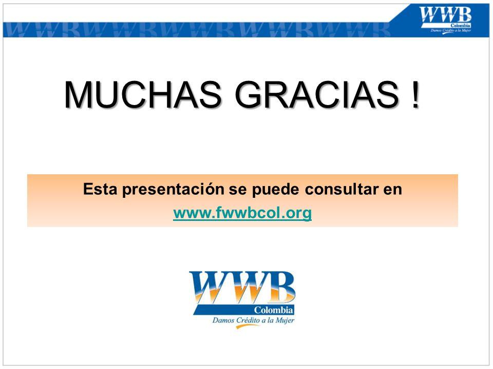 Esta presentación se puede consultar en www.fwwbcol.org www.fwwbcol.org MUCHAS GRACIAS !
