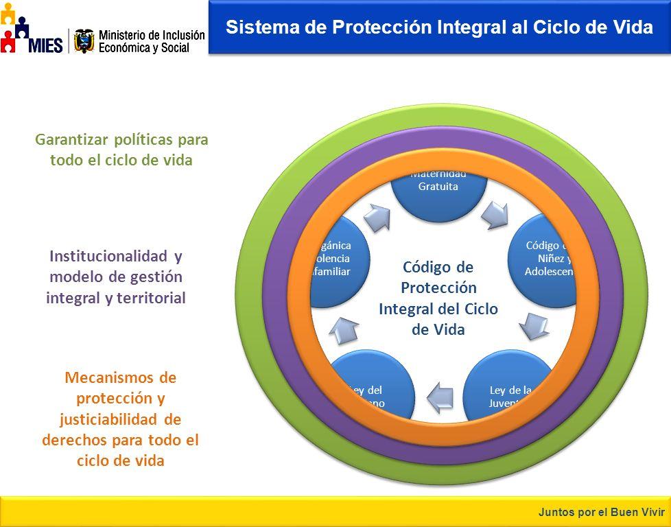 Desarrolla el Buen Vivir Tema de la presentación Anteproyecto de Código de Protección Integral y Cuidado al Ciclo de Vida «Integralidad con Especialid