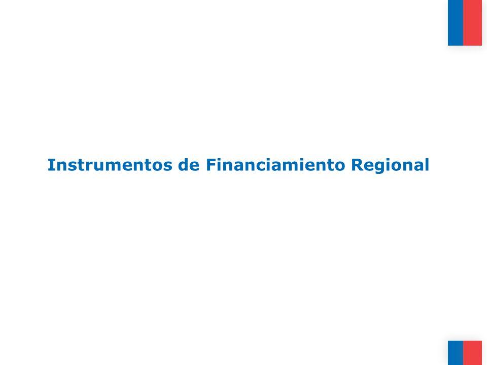 Instrumentos de Financiamiento Regional