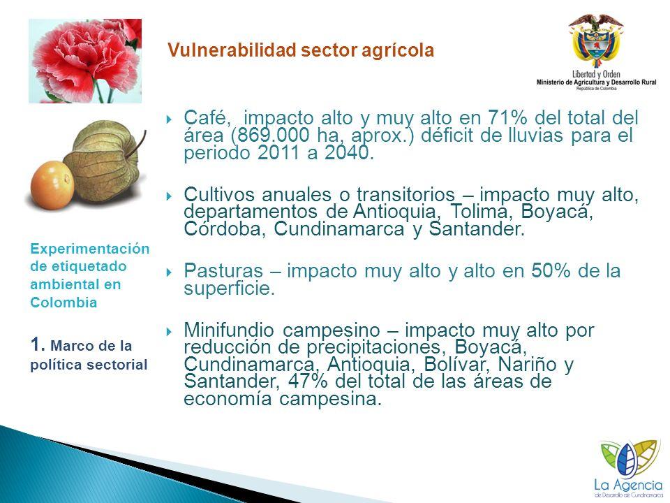 Experimentación de etiquetado ambiental en Colombia 1.