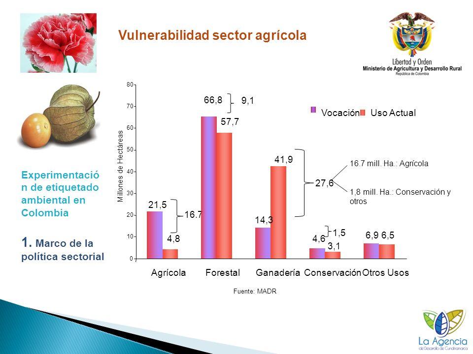 16 Ocati, uchuva Fertilización y transporte son las etapas responsables de la mayor parte de la huella de carbono de la uchuva.