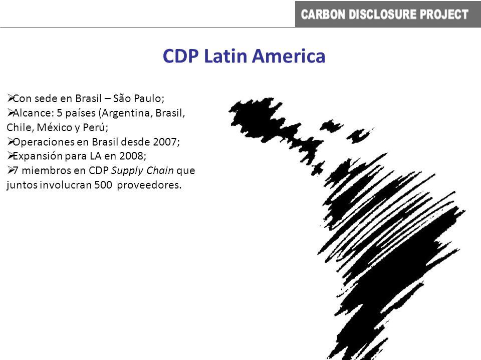 Con sede en Brasil – São Paulo; Alcance: 5 países (Argentina, Brasil, Chile, México y Perú; Operaciones en Brasil desde 2007; Expansión para LA en 200