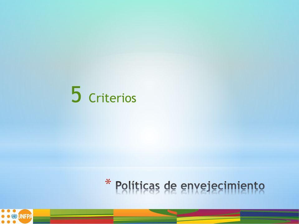 5 Criterios
