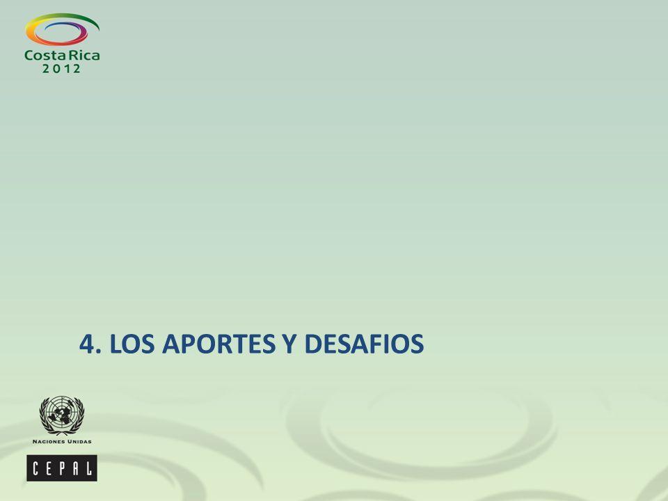 4. LOS APORTES Y DESAFIOS