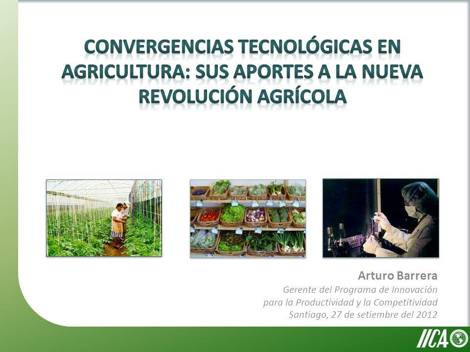 Arturo Barrera Gerente del Programa de Innovación para la Productividad y la Competitividad Santiago, 27 de setiembre del 2012