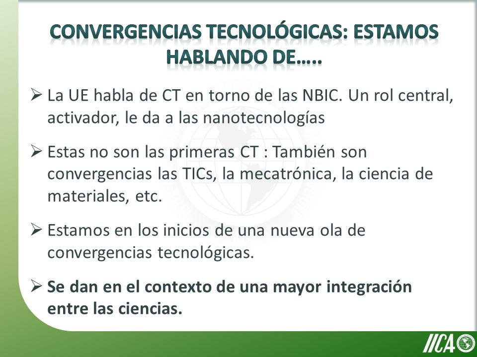 La UE habla de CT en torno de las NBIC.
