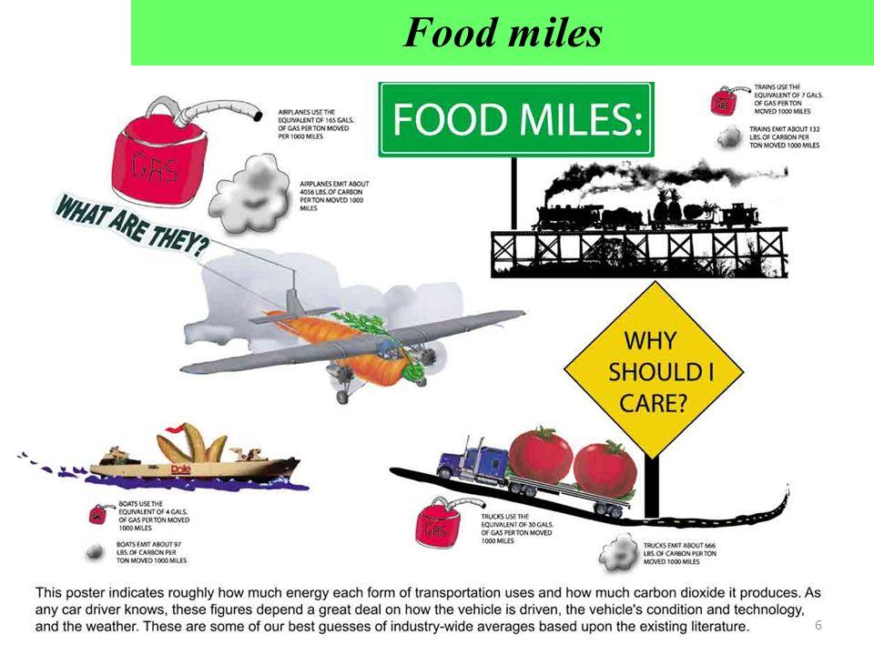 Food miles 6
