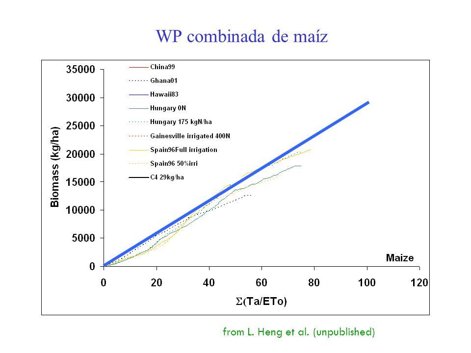 17 WP combinada de maíz from L. Heng et al. (unpublished)