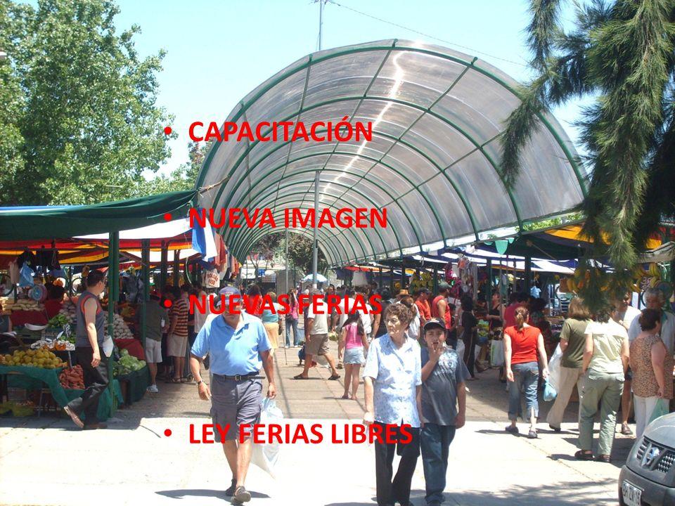CAPACITACIÓN NUEVA IMAGEN NUEVAS FERIAS LEY FERIAS LIBRES