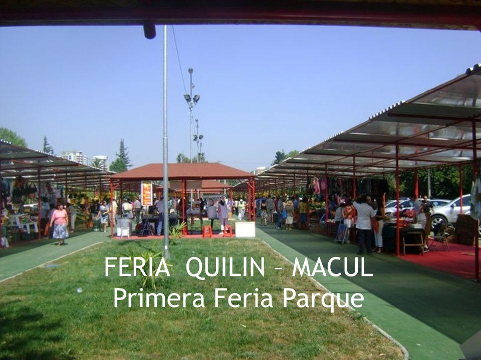 FERIA QUILIN – MACUL Primera Feria Parque