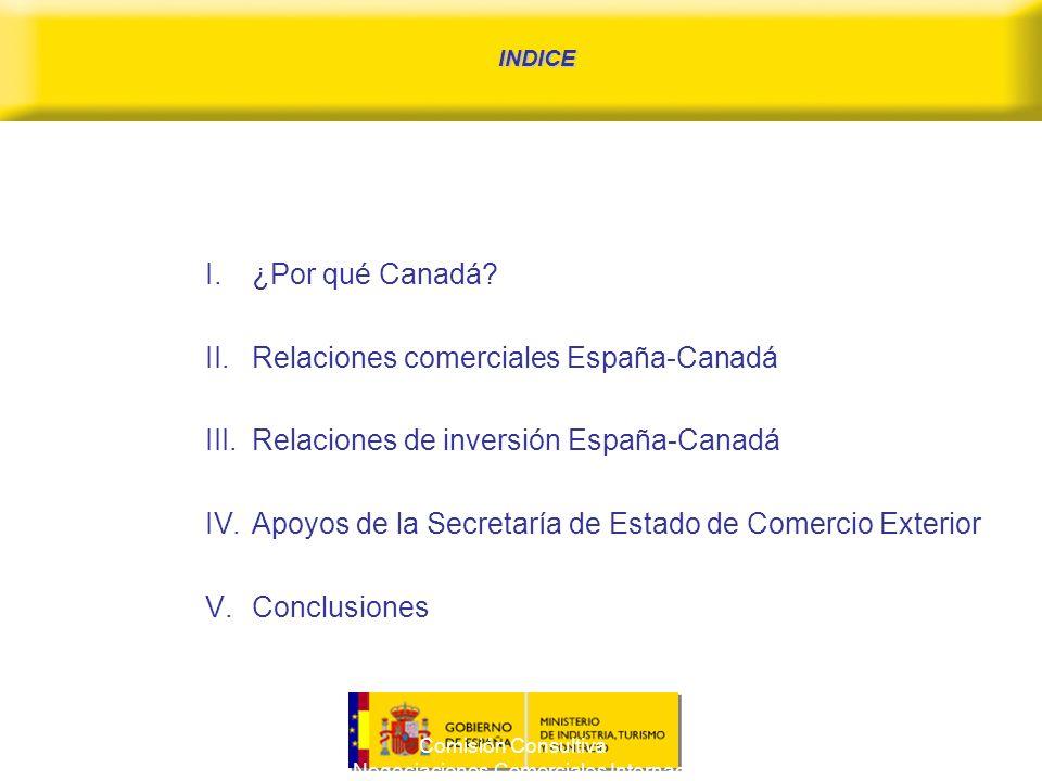 Comisión Consultiva para las Negociaciones Comerciales Internacionales 2 I.¿Por qué Canadá.