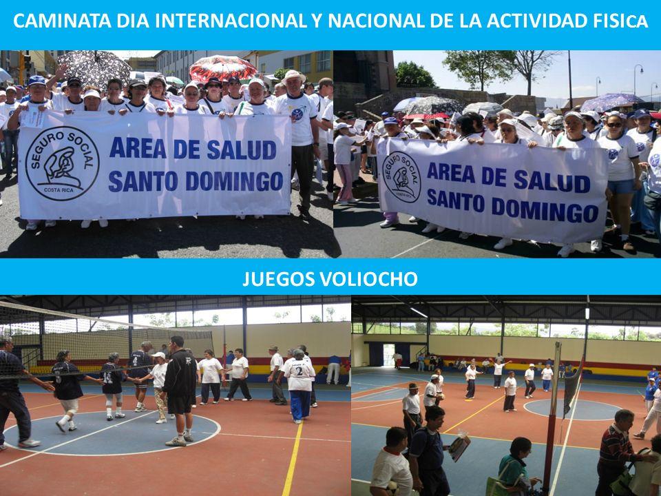 CAMINATA DIA INTERNACIONAL Y NACIONAL DE LA ACTIVIDAD FISI CA JUEGOS VOLIOCHO