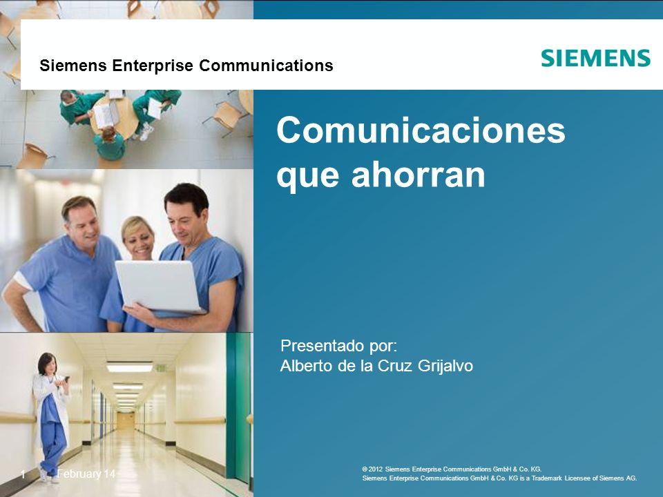 Siemens Enterprise Communications February 142 AGENDA Cita Previa Paro cardíaco Colaboración y movilidad 2 © 2011 Siemens Enterprise Communications GmbH & Co.