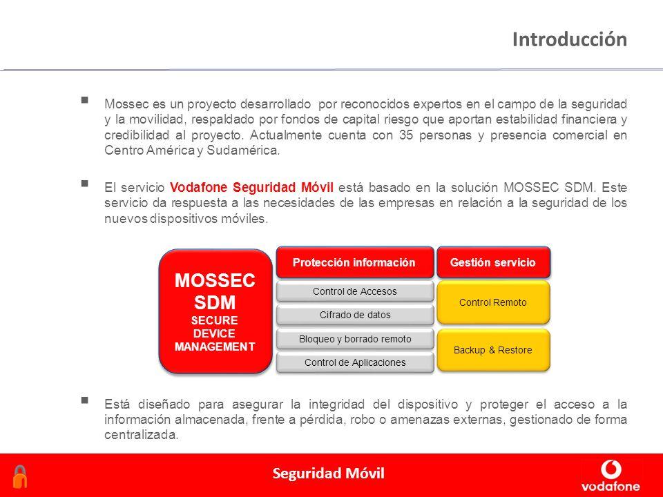 Febrero 2006 Seguridad Móvil Introducción Mossec es un proyecto desarrollado por reconocidos expertos en el campo de la seguridad y la movilidad, resp