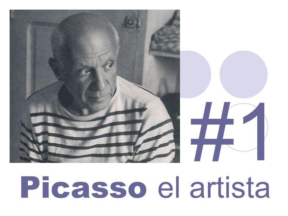 Picasso el artista #1