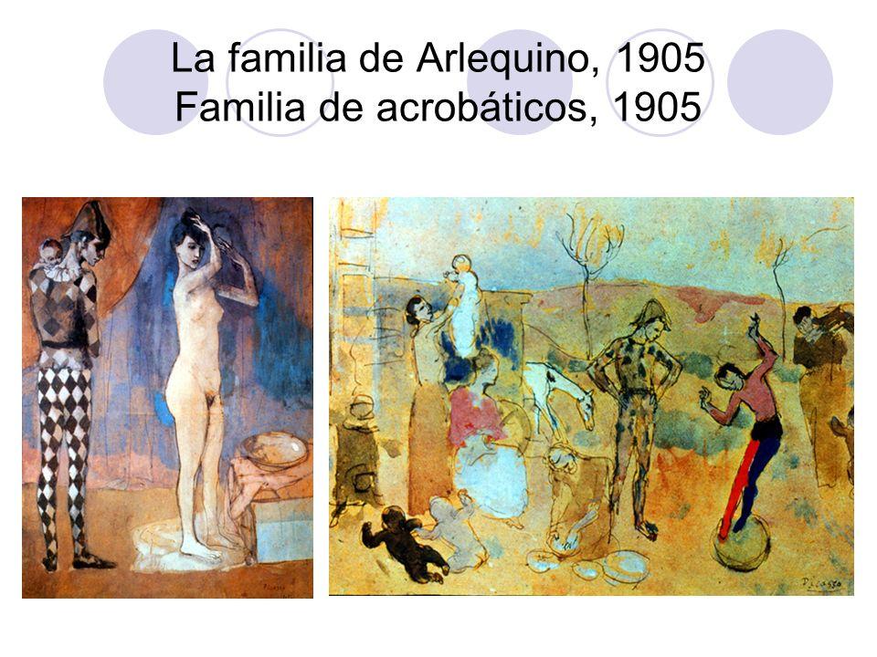 La familia de Arlequino, 1905 Familia de acrobáticos, 1905