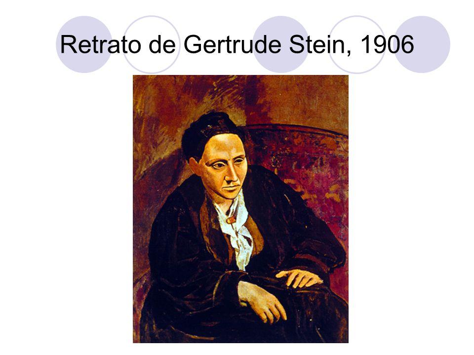 Retrato de Gertrude Stein, 1906