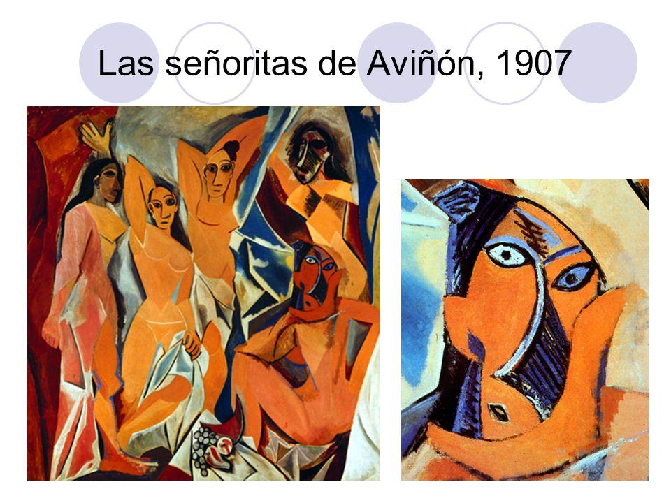 Las señoritas de Aviñón, 1907