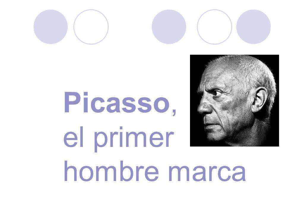 Picasso, el primer hombre marca