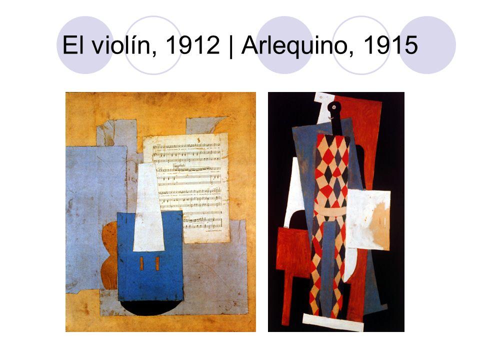 El violín, 1912 | Arlequino, 1915