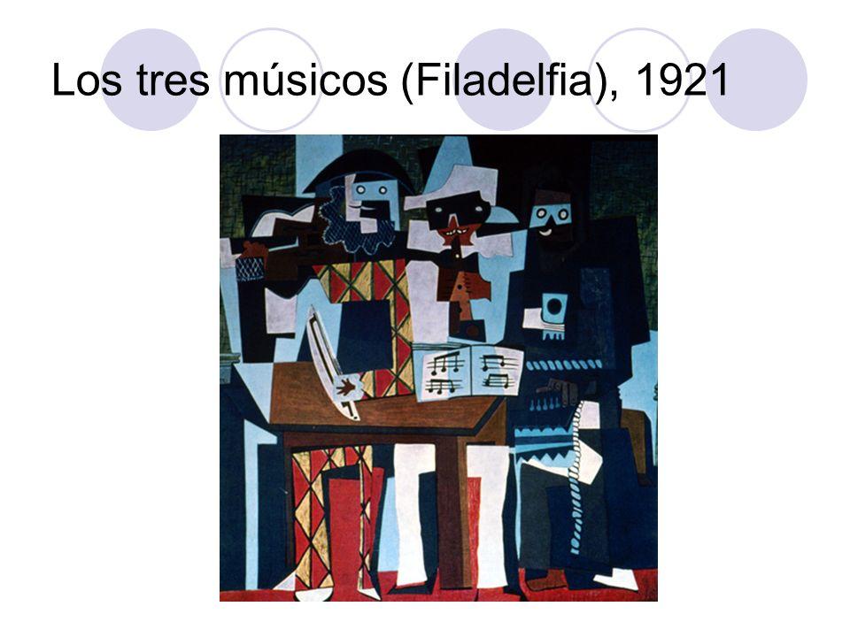 Los tres músicos (Filadelfia), 1921
