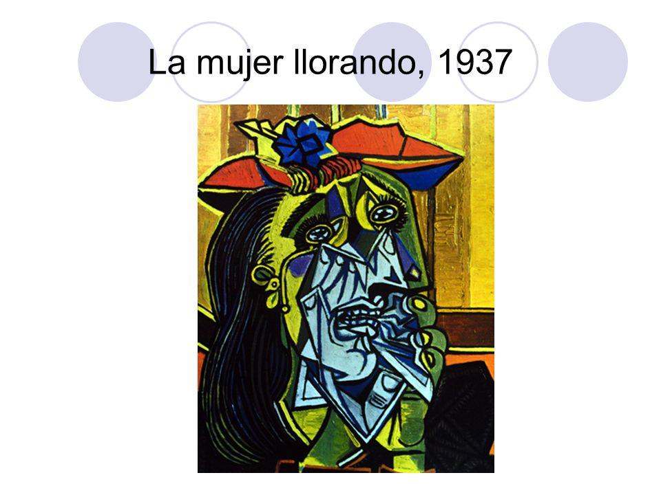 La mujer llorando, 1937