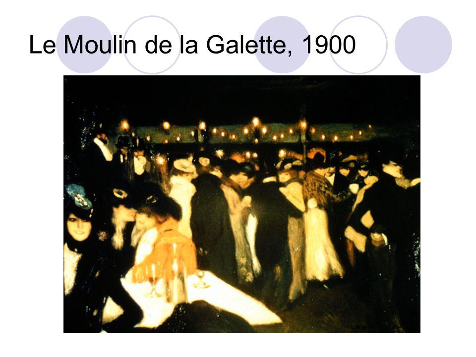 Le Moulin de la Galette, 1900