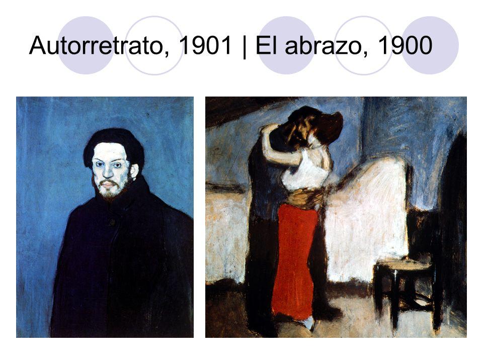 Autorretrato, 1901 | El abrazo, 1900