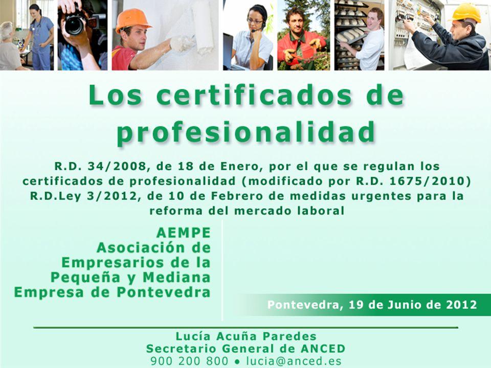 12 Certificado de Profesionalidad Actividades de Venta
