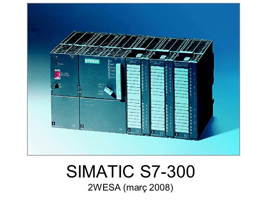 2WESA - Imágenes cortesia de SIEMENS Clase de señales en automatización Las entradas y salidas de las señales eléctricas se pueden dividir fundamentalmente en dos grupos :